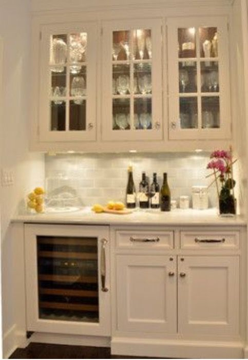 The elegance of a compact home bar, hamptons and provincial | Ideas ...