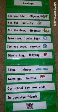 Bye Bye Butterfly Preschool Songs Preschool Classroom Preschool