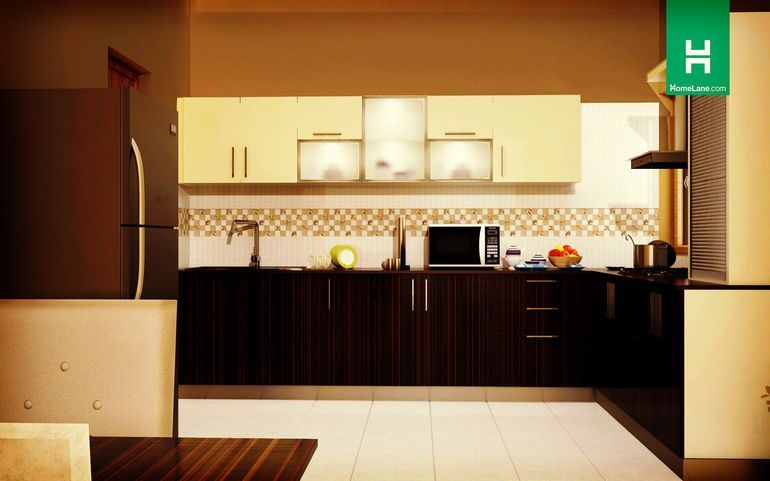 Buy Phoenix Smart Lshaped Kitchen Online Best Price  Homelane Delectable Design Kitchens Online Decorating Inspiration
