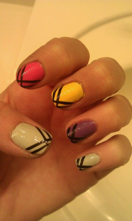 I like the design but who the hell polished these nails a two i like the design but who the hell polished these nails a two year prinsesfo Image collections