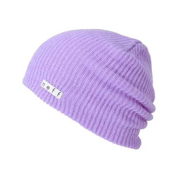 63bb3932b70 Neff Daily Orchid Purple Beanie ( 18) ❤ liked on Polyvore featuring  accessories