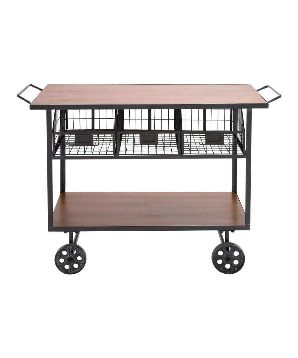 Charmant Rolling Office Cart