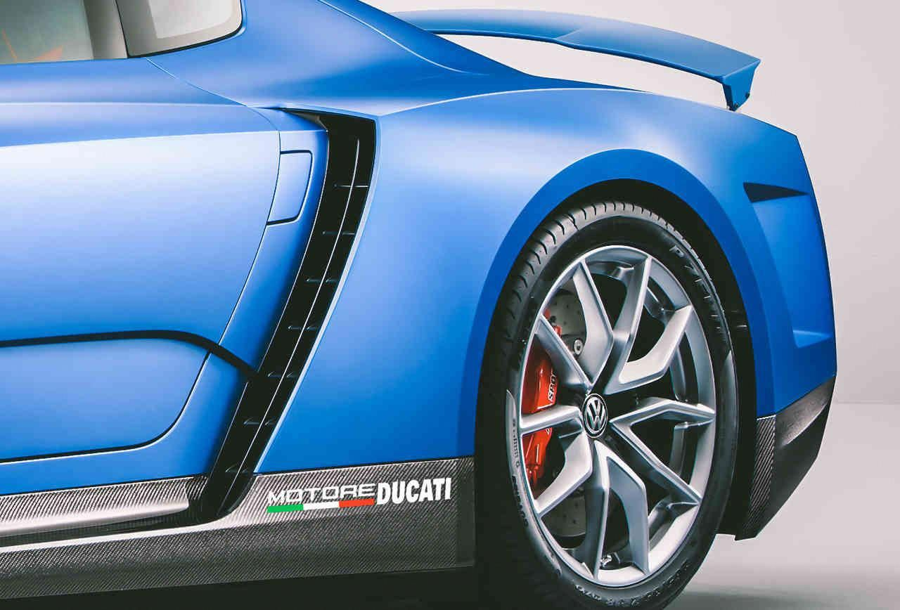 The XL Sport Is Volkswagen's New DucatiPowered Supercar
