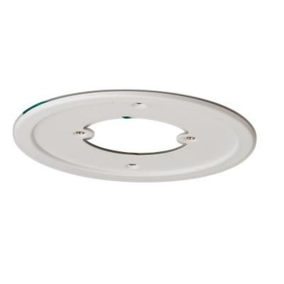 hampton bay 1 light white recessed can light adapter for