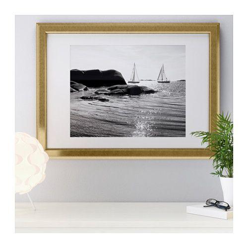 VIRSERUM Frame, gold | For The Home | Pinterest
