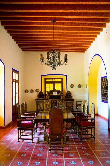 Ex hacienda de chautla puebla mexico asador pinterest for Decoracion de casas tipo hacienda
