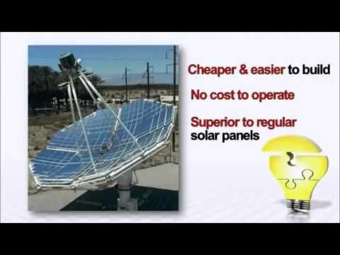 Http Www Home Built Energy Com The Solar Stirling Plant Guide To Free Electricity This System Provides 12x The Power O Solar Solar Panels Solar Energy Diy