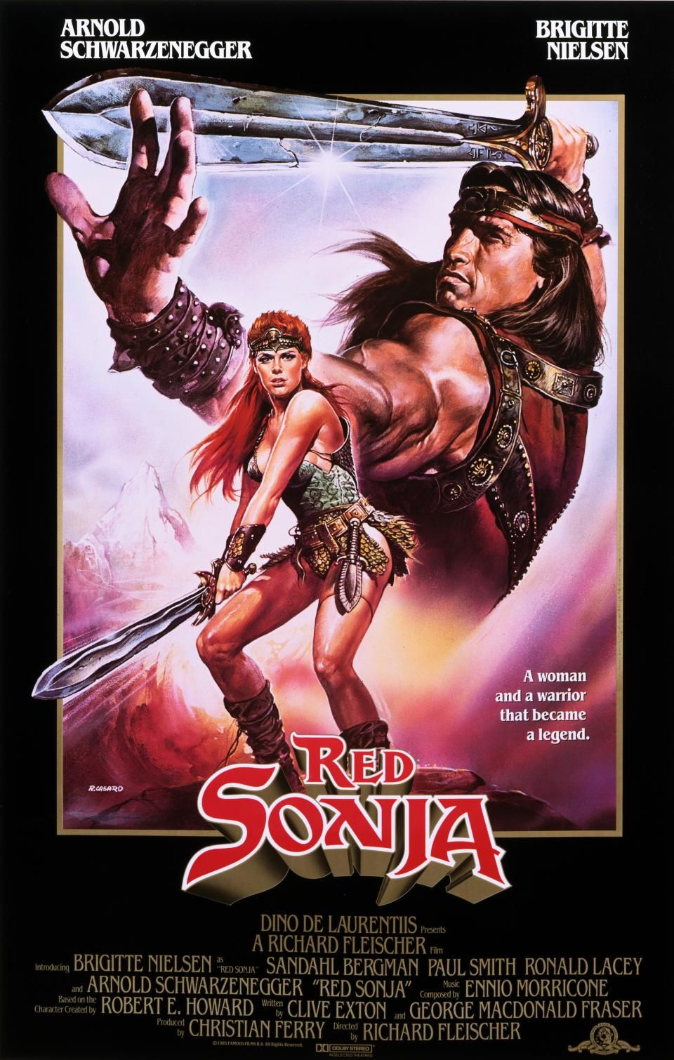 Red Sonja | Movie Posters | Pinterest | Red sonja, Movie and Film ...