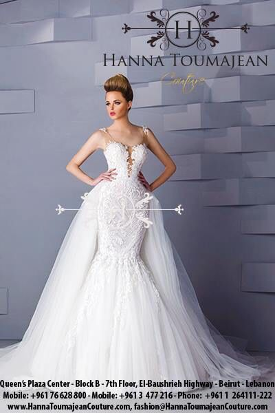 YES I DO\' the #new #luxury #bridal #Collection by Hanna Toumajean ...