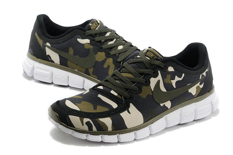 Camo Chaussures Nike Free Pour Les Hommes