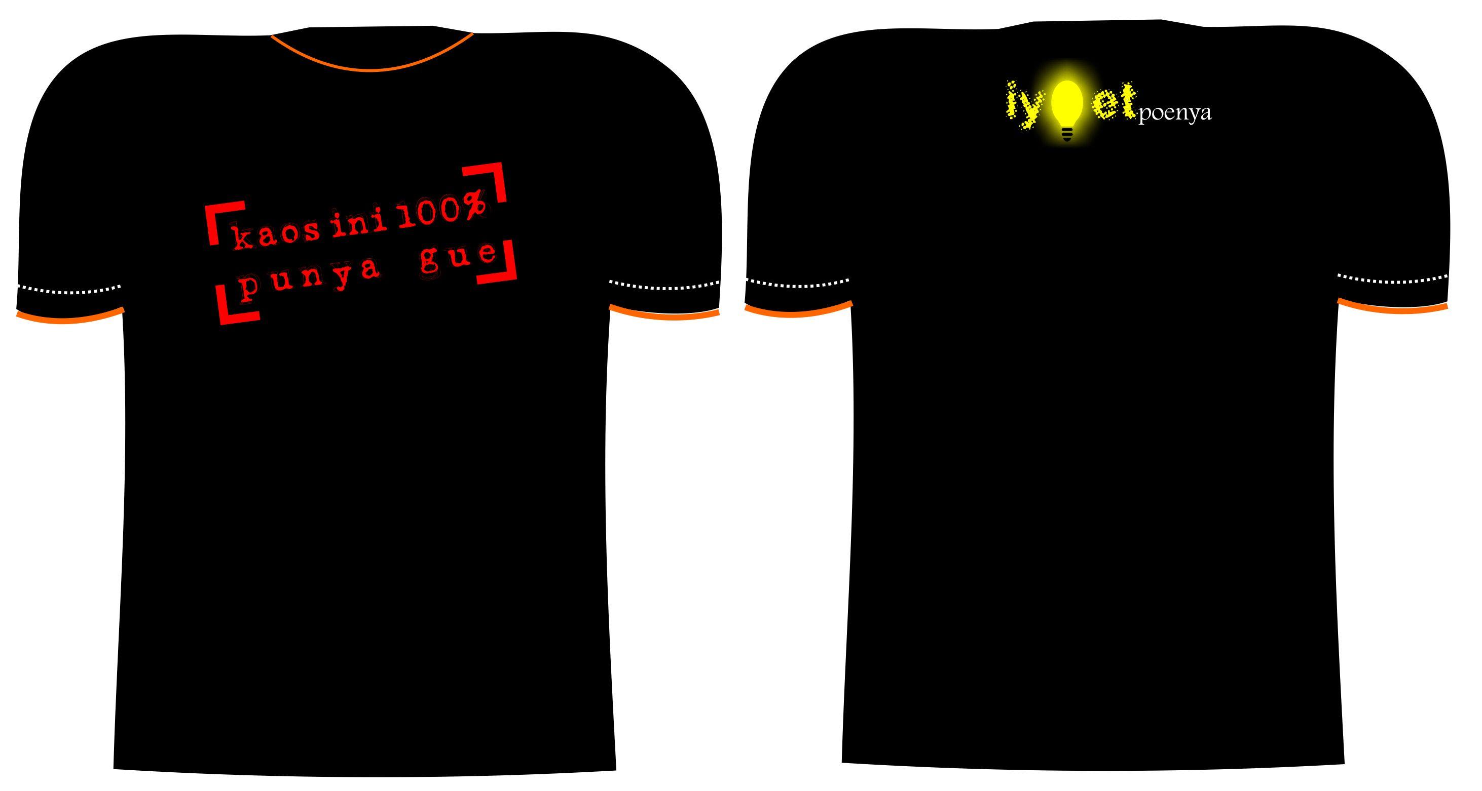 Contoh desain t shirt kelas -  Desainkaos