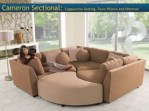 Four Piece Sectional Puzzle Sofa   Two Color Choices!!   New!