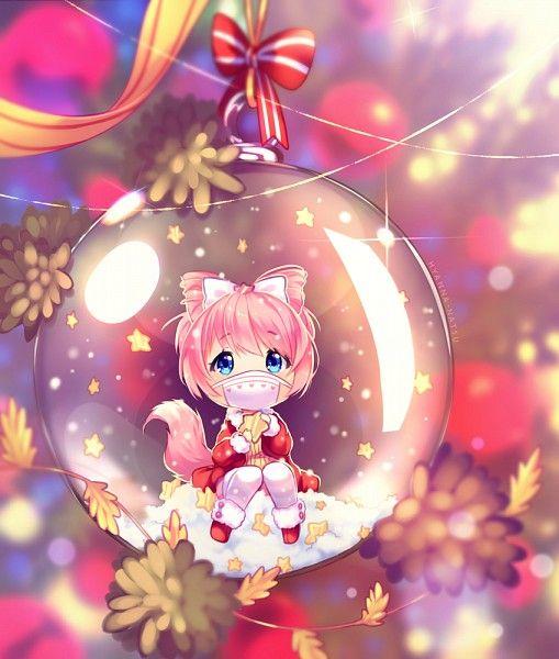 Chirstmas Cute Anime Anime Christmas Cute Anime Chibi Anime Chibi