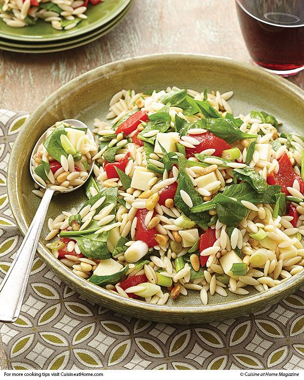 Orzo Salad | Cuisine at home eRecipes