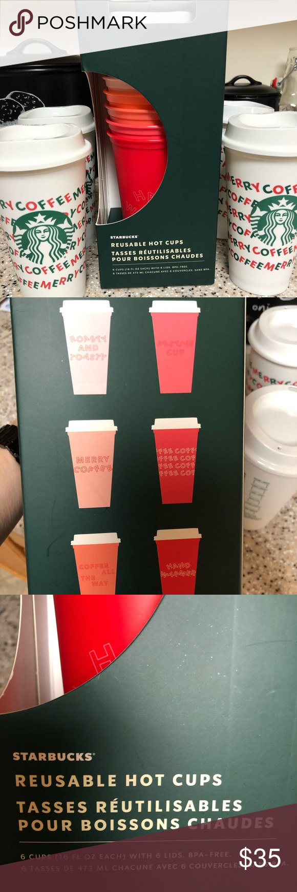 Starbucks Cup Bundle Starbucks plastic cups, Starbucks