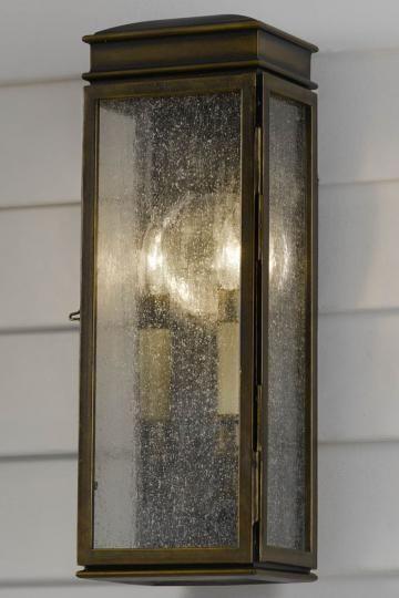 two light Wilhelm Outdoor Wall Lantern $169 | lighting | Pinterest ...