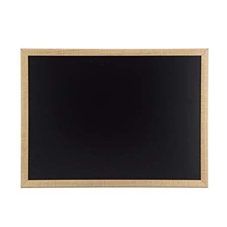 U Brands Chalkboard, 23 x 17 Inches, Oak Frame | Kids ...