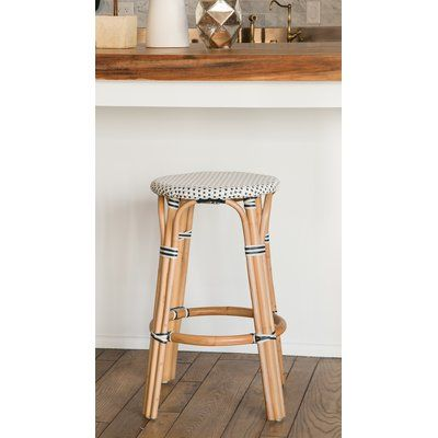 Bay Isle Home Kenneth Bistro Backless 30 5 Bar Stool In 2020 Bar Stools Backless Bar Stools Counter Bar Stools