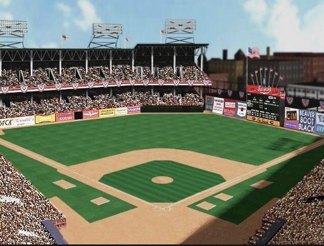 Ebbets Field Brooklyn Video Animation Mlb Stadiums Baseball Park Baseball Stadium