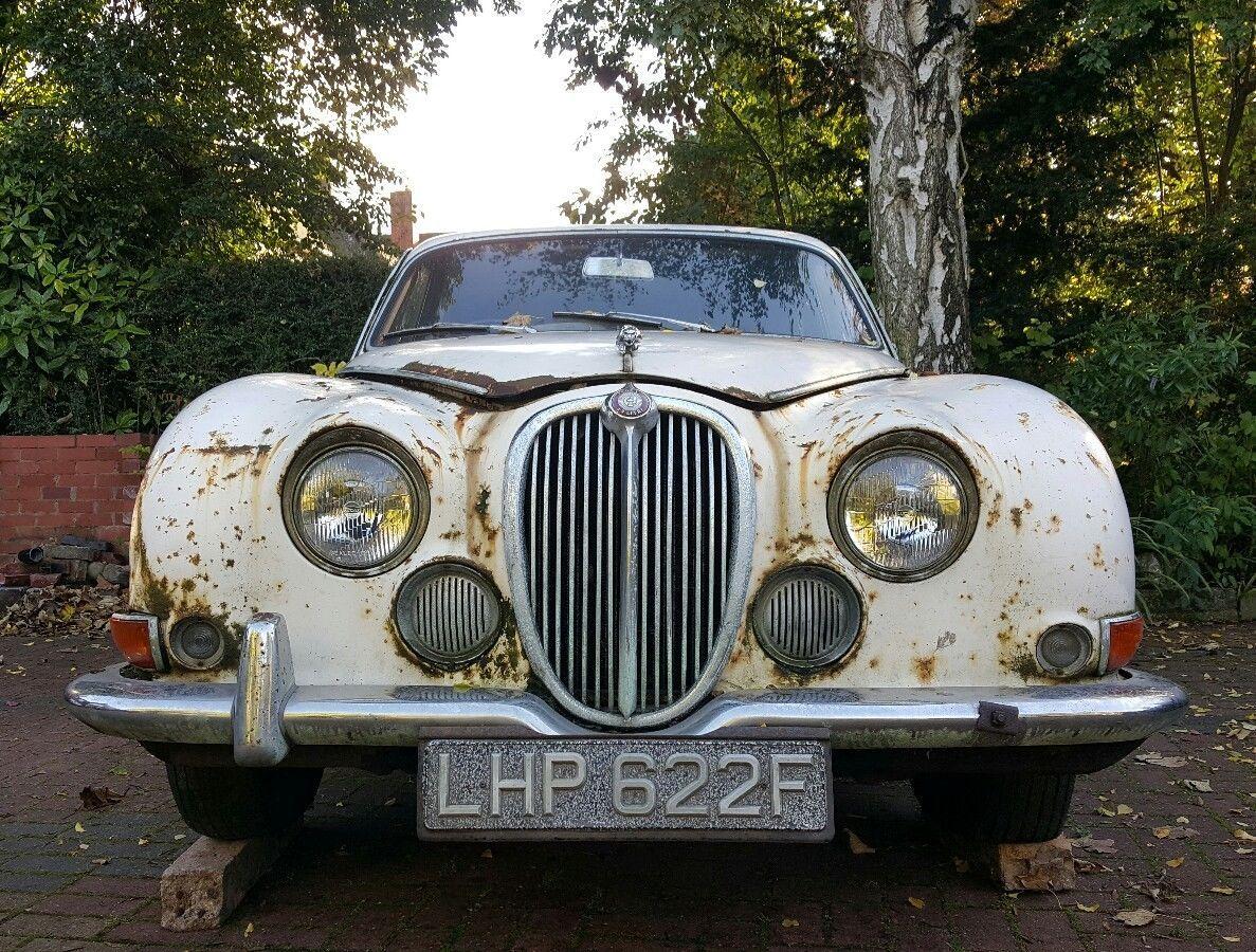 1967 Jaguar S Type 38 Classic Restoration Project Barn Find