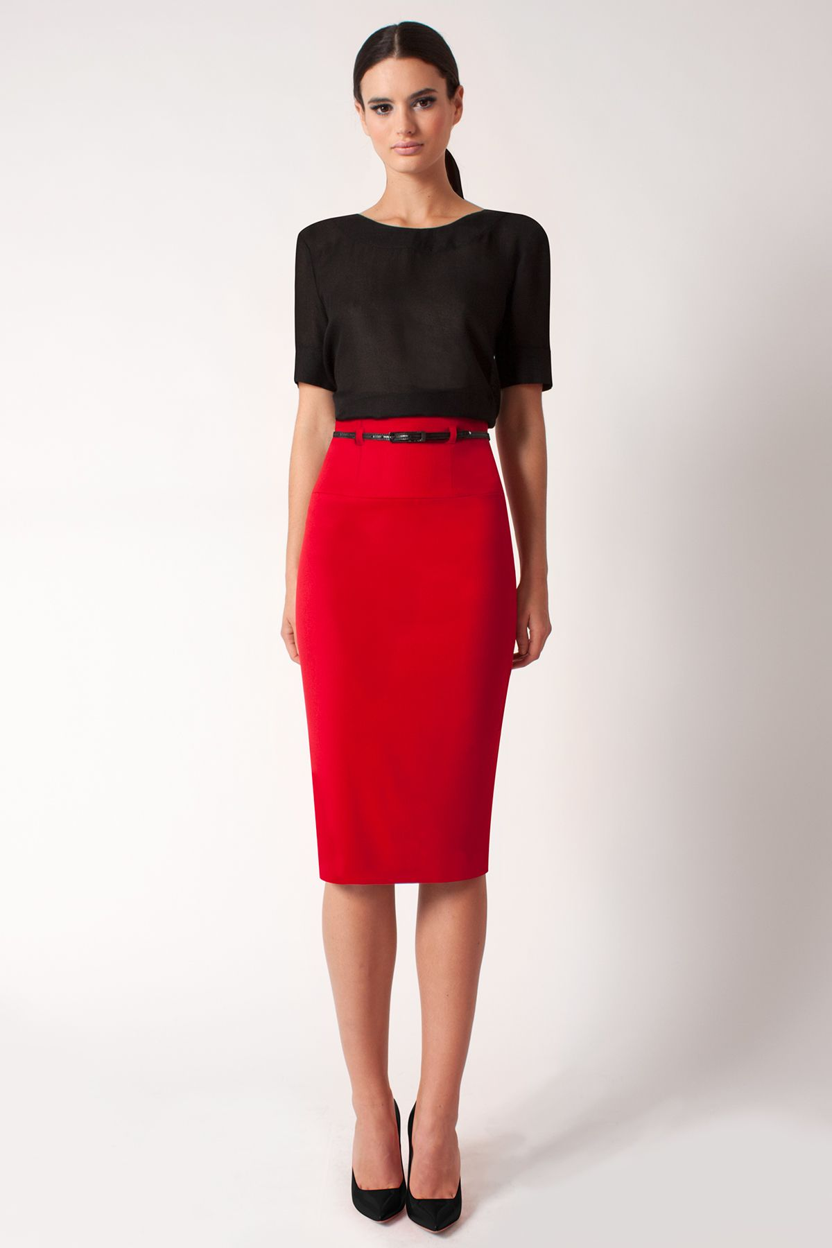 b12c2c297 70 Stylish Pencil Skirt outfit examples for you | Sassy clothes ...
