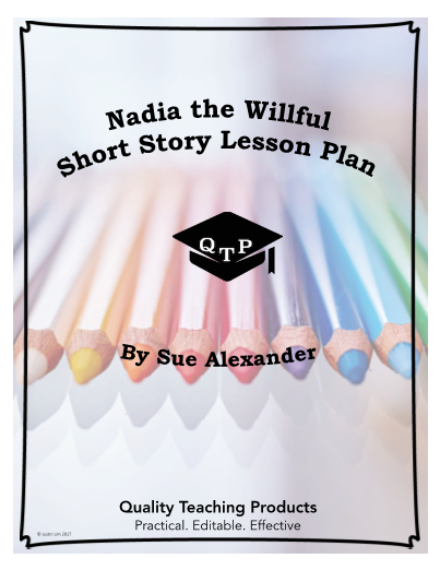 nadia the willful essay