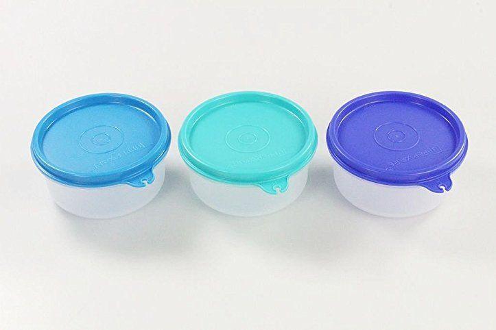 Tupperware 3x 200 Ml Julchen Kuhlschrank Turkis Blau Dunkelblau