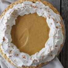 Gingerbread Cream Pie at laurenslatest.com
