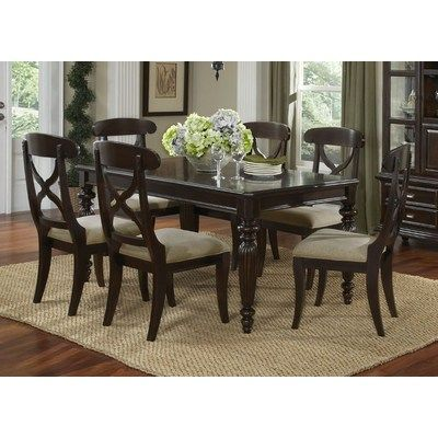 Superior Buy Legacy Classic Furniture Austin Place 7 Piece 54x38 Leg Table Dining  Room Set On Sale