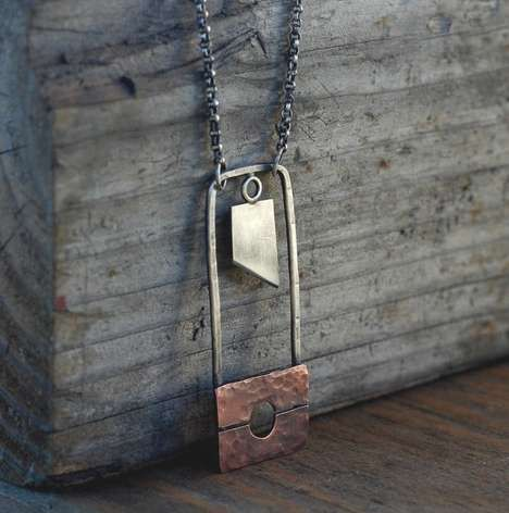 Gruesome Guillotine Necklaces - This Halloween Necklace Design Will Have Heads Rolling (TrendHunter.com)