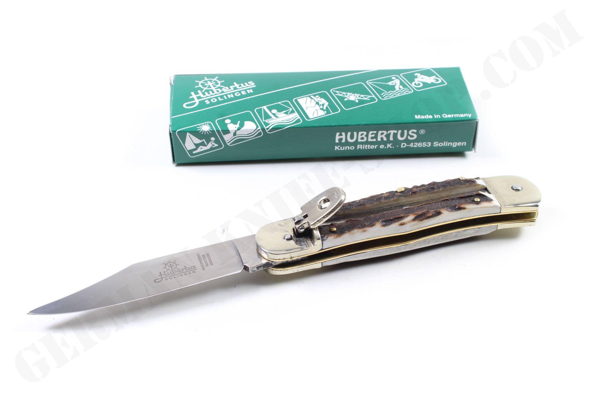 Hubertus Special Pocket Knife Large Buckhorn | Mossy oak