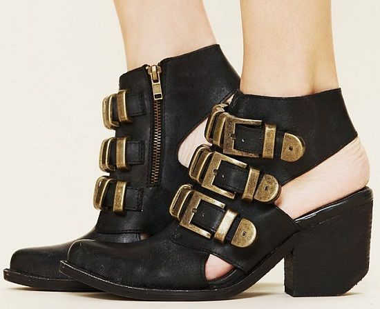 Jeffrey Campbell Tripoli Buckled Boots
