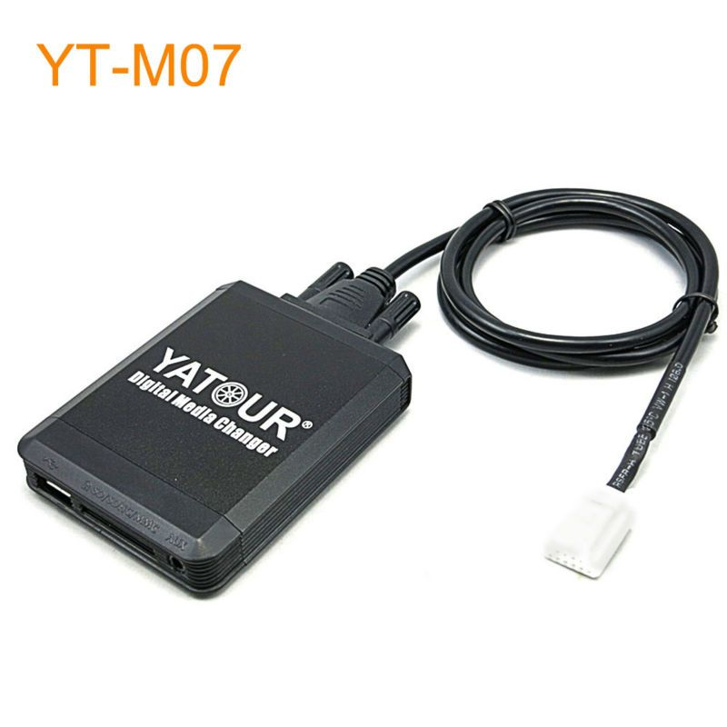 Car MP3 USB SD CD Changer for iPod AUX with Optional