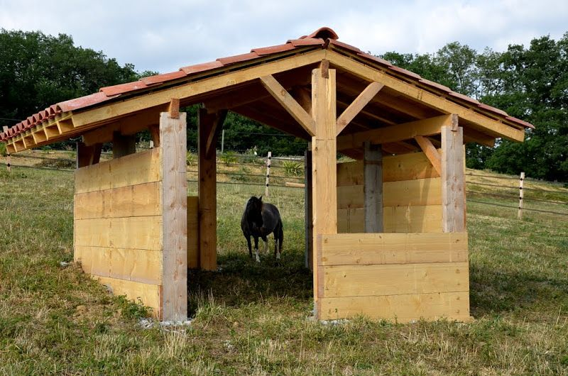 Share your pics of shelters, feeders, hay feeders, Horse