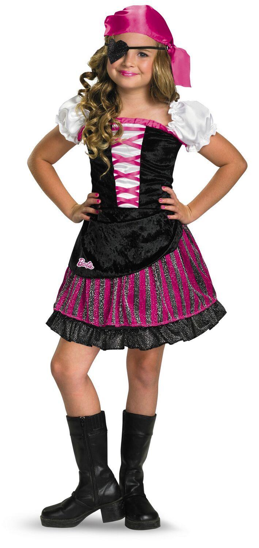 Barbie High Seas Pirate Costume   Kids Pirate Costume   Pinterest ...