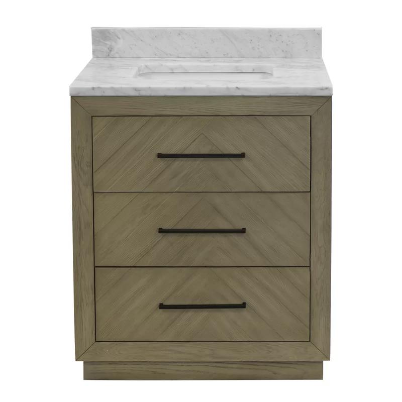 Foristell 30 Single Bathroom Vanity Set In 2020 Gray Bathroom