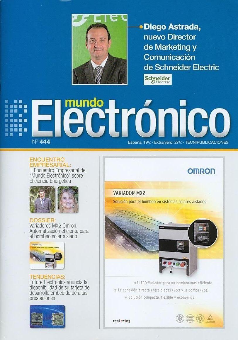 ELECTRÓNICA (Mundo electrónico : n| 444 / 2013)