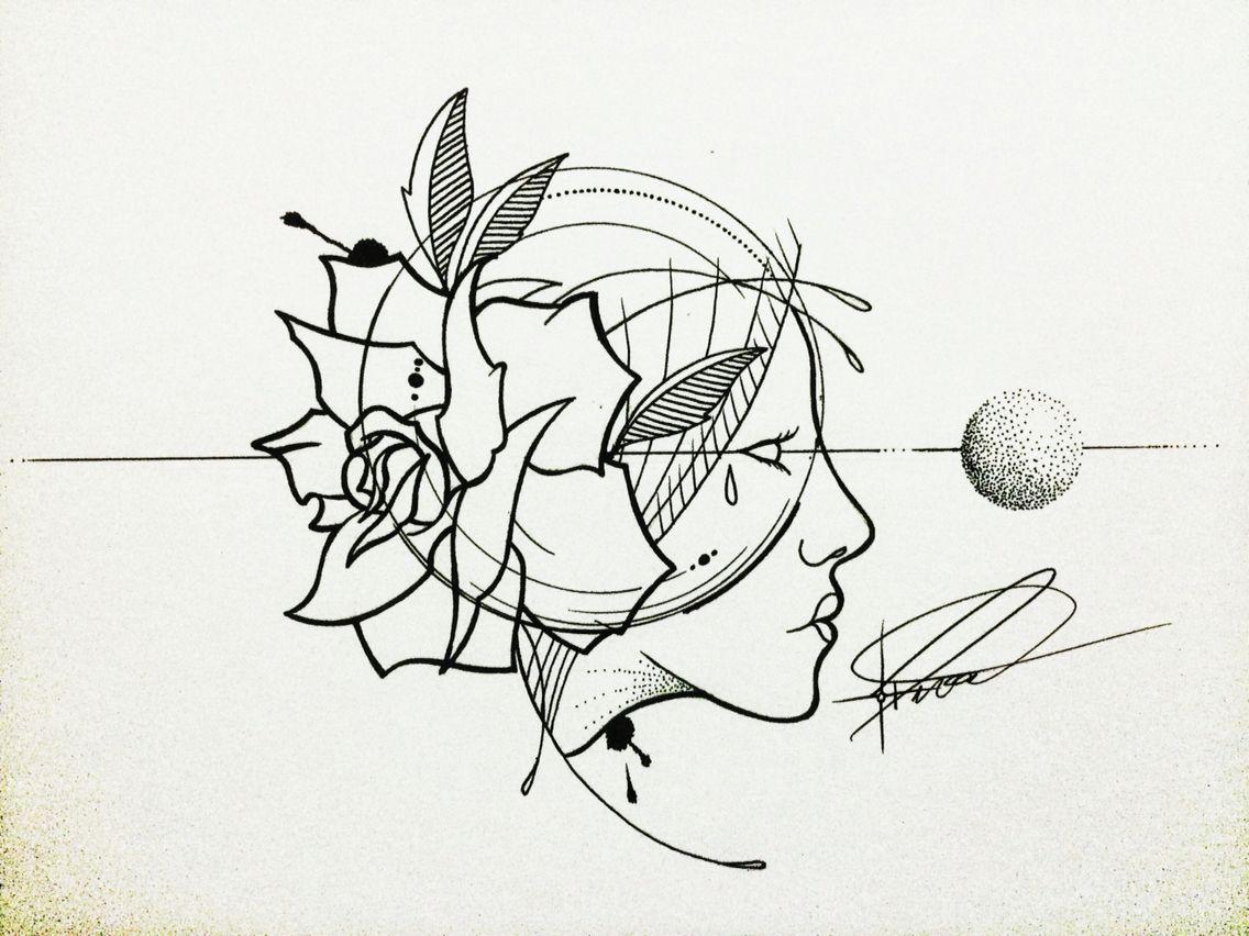draw nanquim @ferreiradead on instagram
