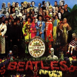 Sgt Pepper S Lonely Hearts Club Band Album Cover Art Beatles Album Covers Sgt Peppers Lonely Hearts Club Band