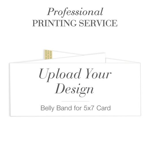 Uniquely Yours Matches 5x7 Card Professional Printing Service Magnolia Press White