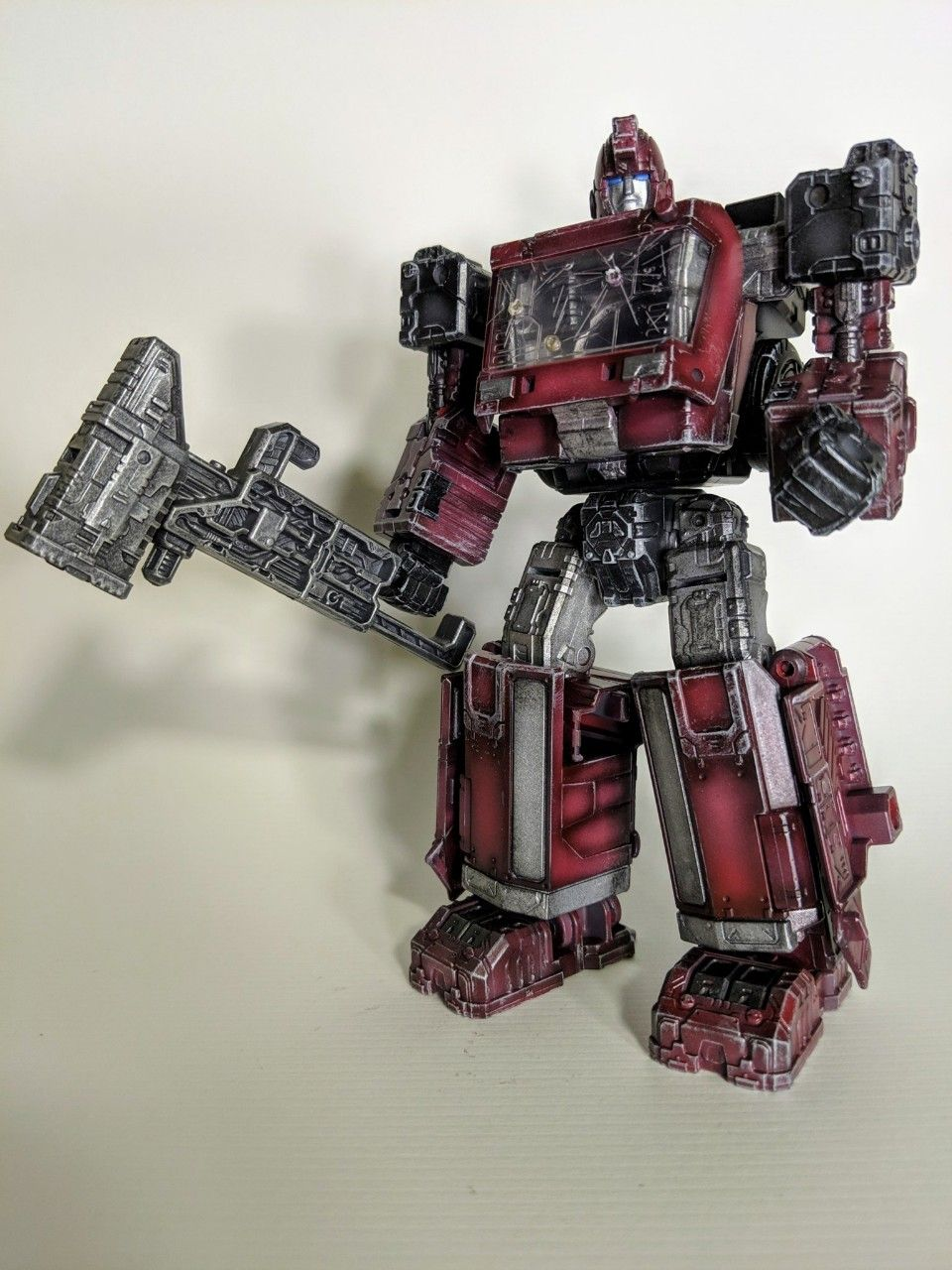 Custom Siege Ironhide Transformers Custom Toys Custom