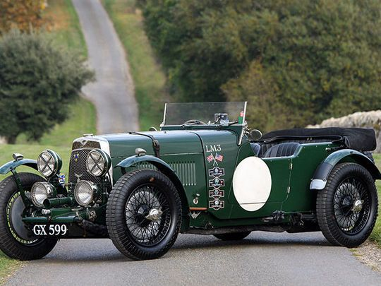 Car Aston Martin LM3 'Works Racing Car'   1929  for sale – PreWarCar