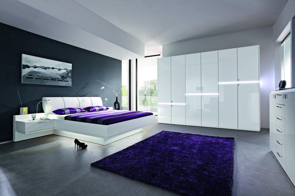 Genial schlafzimmer weiß hochglanz Deutsche Deko Pinterest - schlafzimmer weiss hochglanz