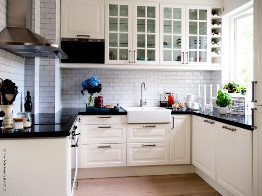 Kitchen make over from http://livethemma.ikea.se | Ikea Küche ...