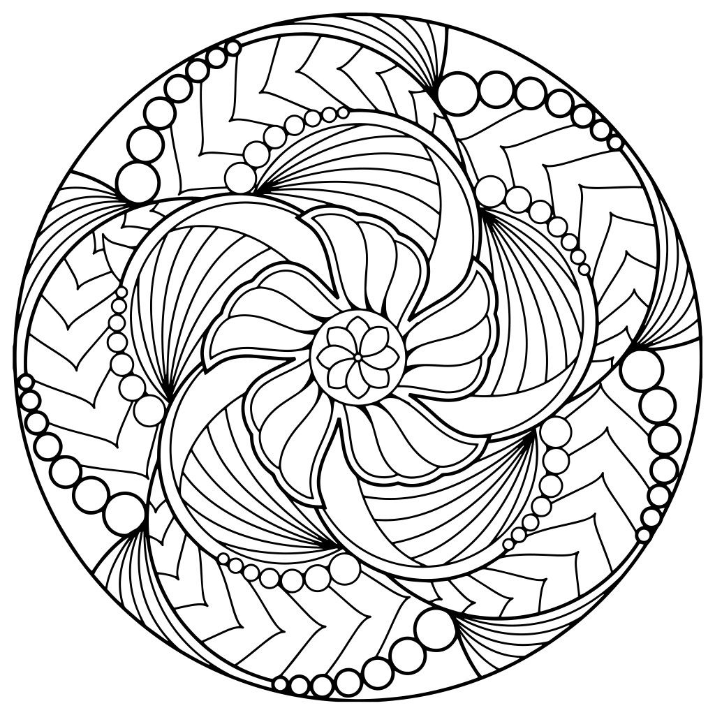Pin by Carol on digital pictures | Mandala coloring ...