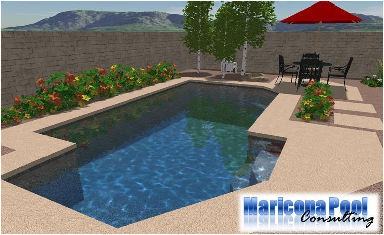 Desert pool landscaping arizona pool specials for for Pool design az