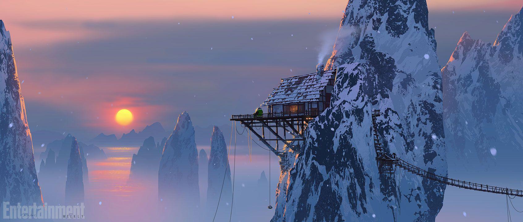 Breathtaking 'Kung Fu Panda 3' Concept Art Reveals Panda Village