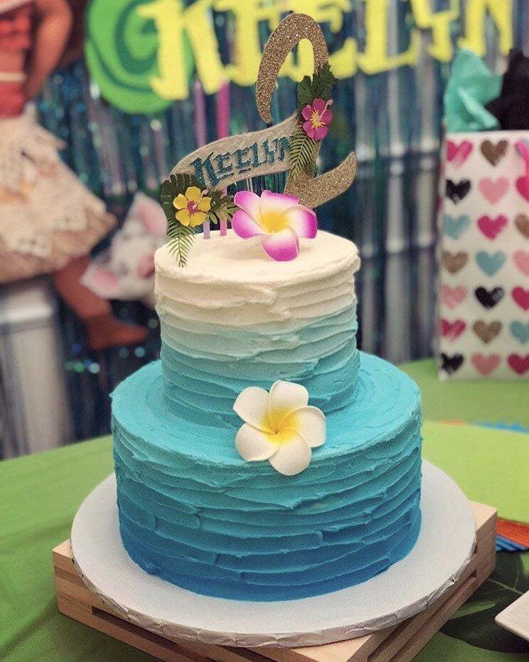 Moana inspired cake topper, moana cake topper in 2019