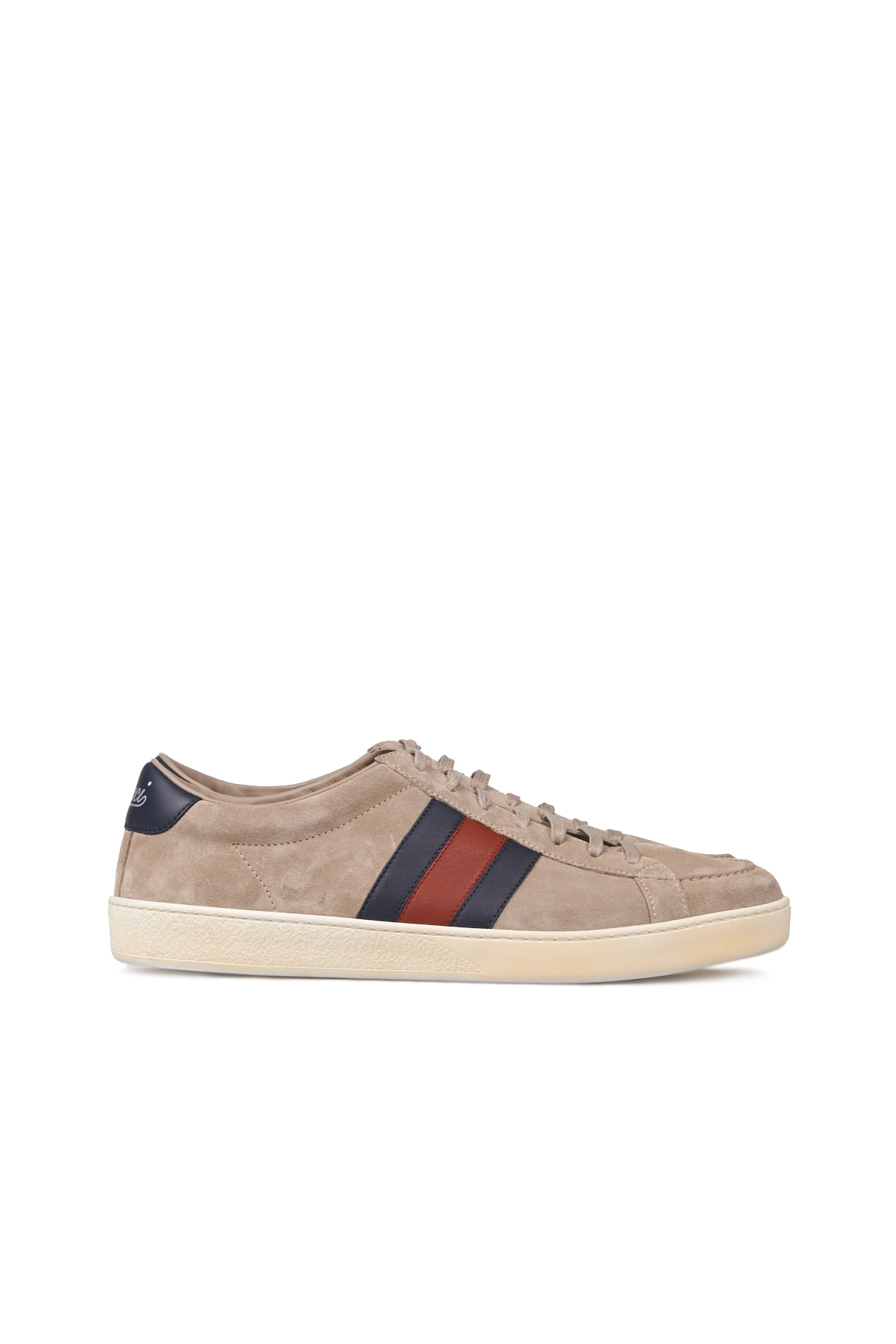 Gucci leather sneakers available at www.fatimamendes.com