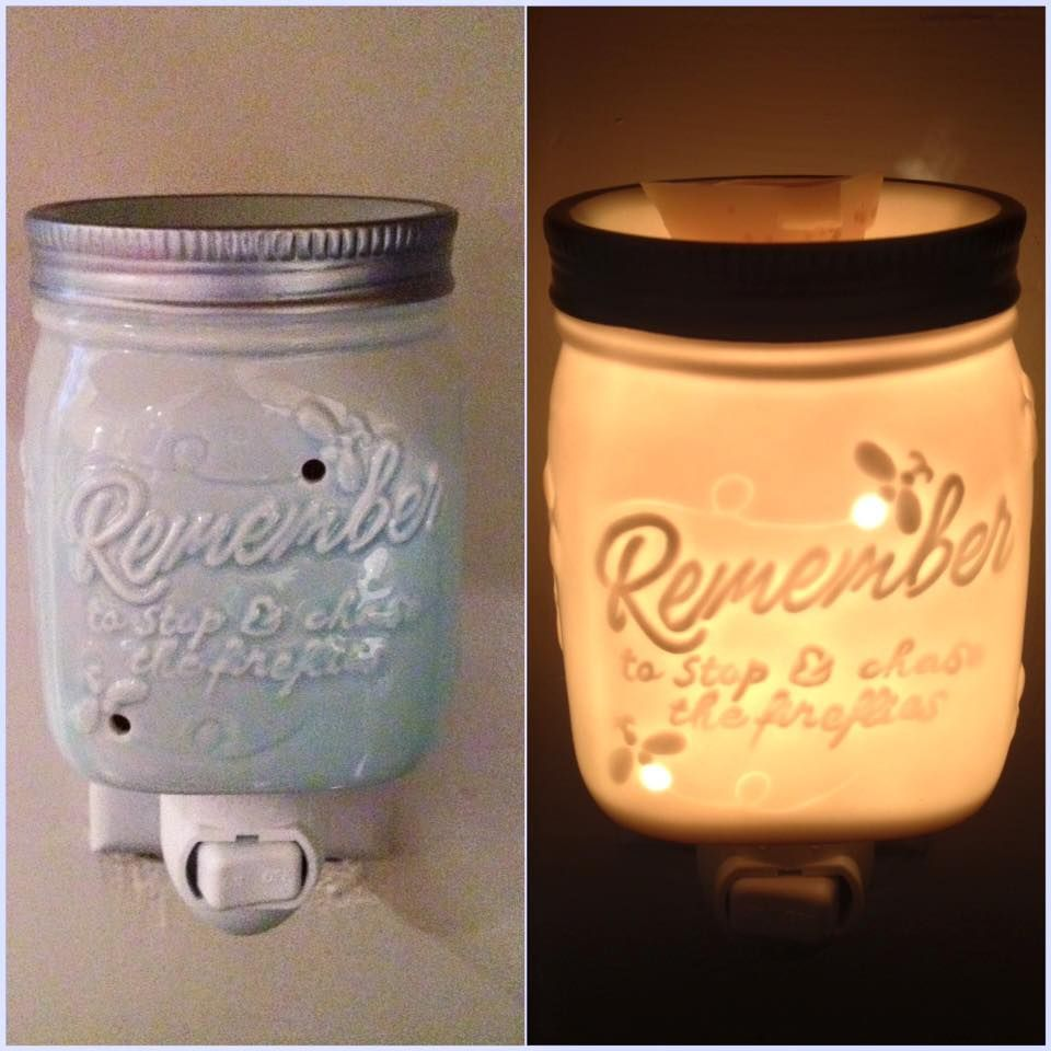 Scentsy Chasing Fireflies Nightlight Off Amp On Www